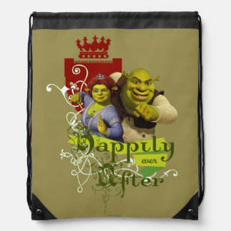 Happily Ever After Drawstring Bag