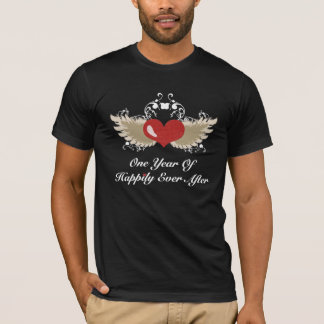 Happily Ever After First Year Anniversary Shirt