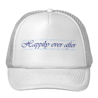 Happily Ever After For Now Hat