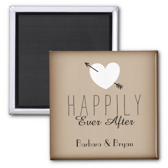 Happily Ever After Fridge Magnet