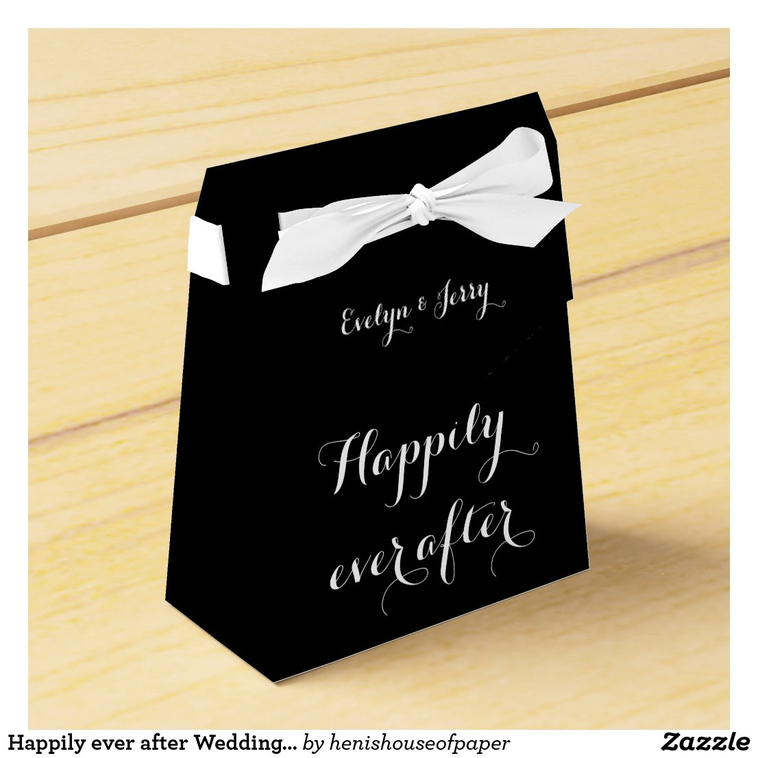 Happily ever after Wedding Favour Boxes