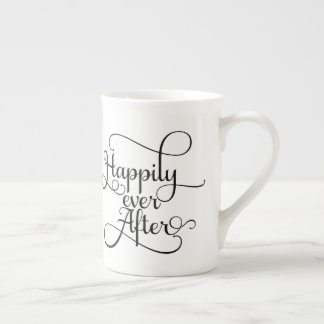 Happily Ever After, Wedding or Fairytale Tea Cup