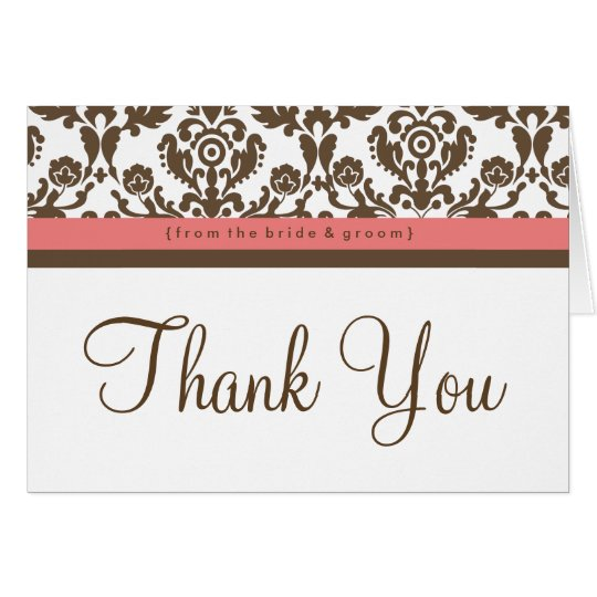 Happily Ever After Wedding Thank You Card