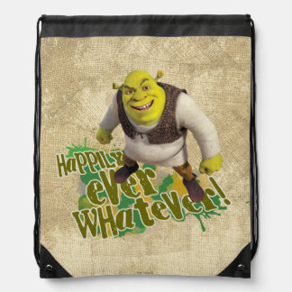 Happily Ever Whatever! Drawstring Bag