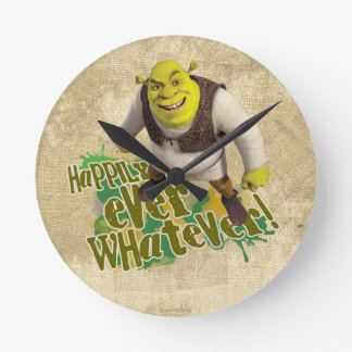 Happily Ever Whatever! Round Clock