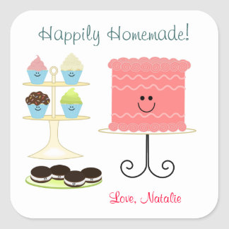 Happily Homemade Baking Sticker