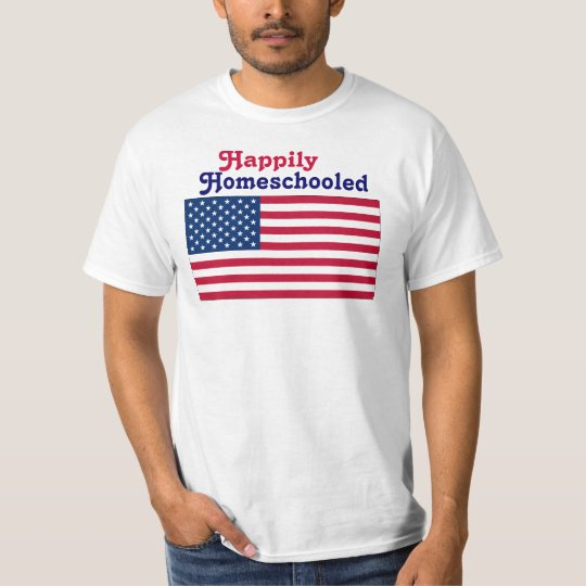 Happily Homeschooled T-Shirt