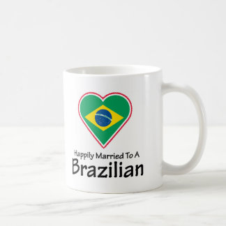Happily Married Brazilian Coffee Mug