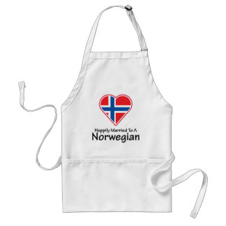 Happily Married Norwegian Standard Apron