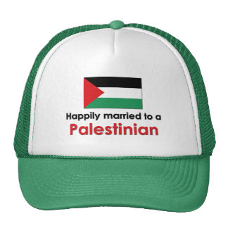 Happily Married Palestinian Mesh Hat