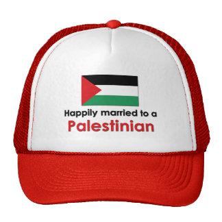 Happily Married Palestinian Trucker Hats
