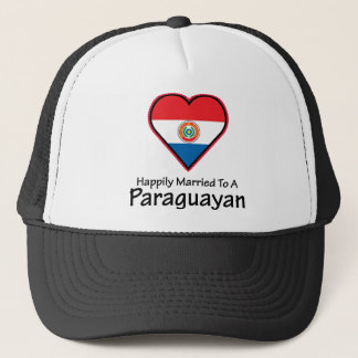 Happily Married Paraguayan Trucker Hat