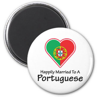 Happily Married Portuguese Magnet