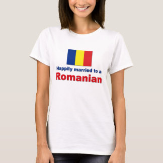 Happily Married Romanian T-Shirt