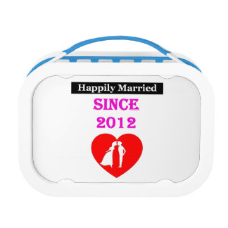 Happily Married Since 2012 Lunchboxes