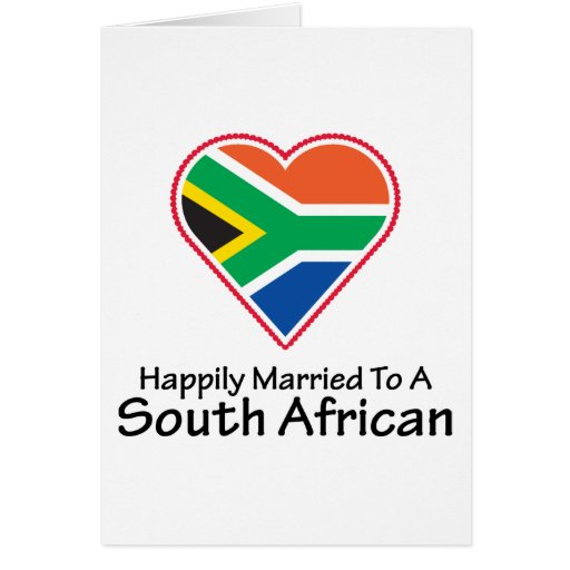 Happily Married South African Card