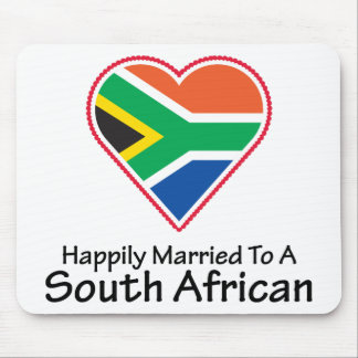 Happily Married South African Mouse Pad
