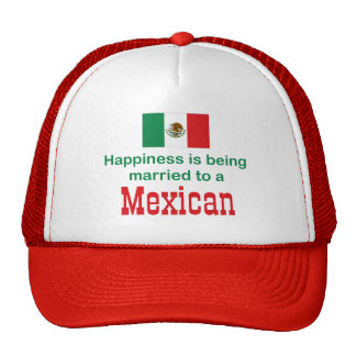 Happily Married To A Mexican Cap