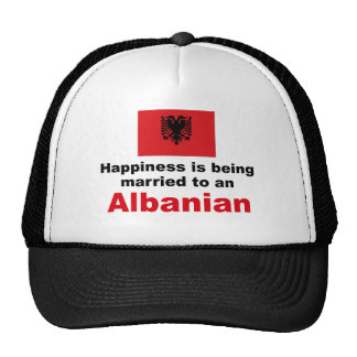 Happily Married To Albanian Cap