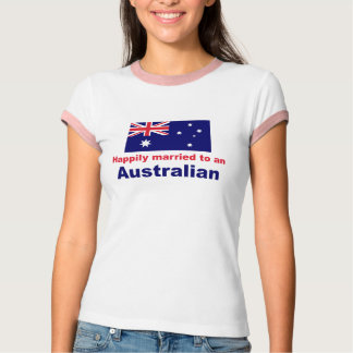 Happily Married To An Australian Shirt