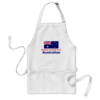 Happily Married To An Australian Standard Apron