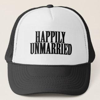 HAPPILY UNMARRIED TRUCKER HAT