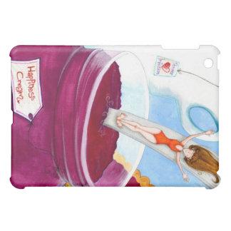 Happines Cream iPad Mini Covers