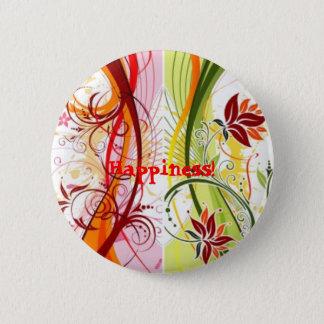 Happiness! 6 Cm Round Badge