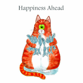 Happiness Ahead Photo Cutout