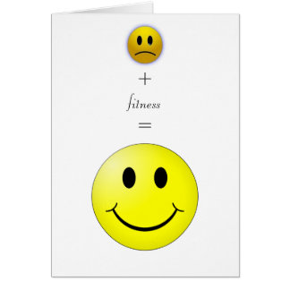 Happiness and ease greeting card
