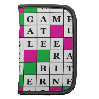 Happiness and Luck Crossword Organizers
