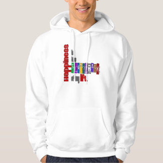Happiness - Basic Hooded Sweatshirt