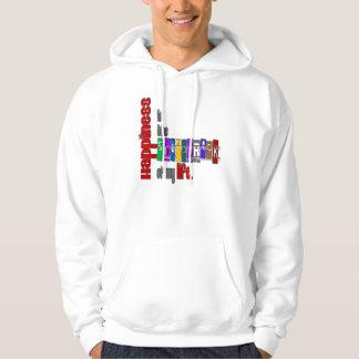 Happiness - Basic Hooded Sweatshirt