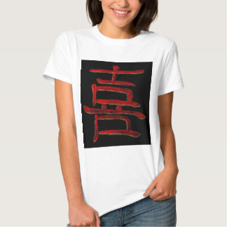 happiness blk red tees