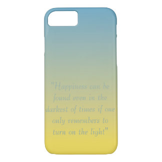 Happiness Can Be Found Quote iPhone 7 Case