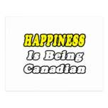Happiness...Canadian Post Card