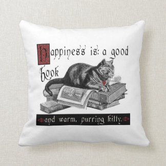 Happiness Cat/Kitty Pillow