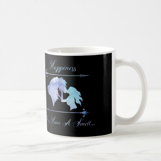 Happiness Does Have A Smell HORSES!!!! Coffee Mug