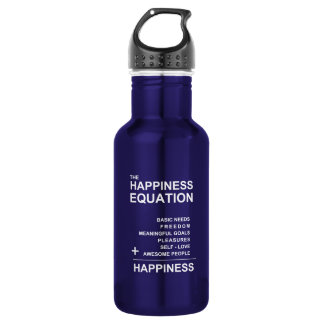 Happiness Equation 532 Ml Water Bottle