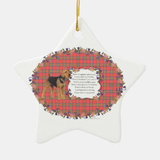 Happiness Everywhere Christmas Ornament