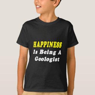 Happiness...Geologist Tee Shirts