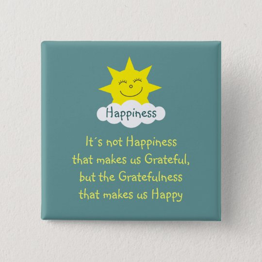 Happiness & Gratitude sun badge