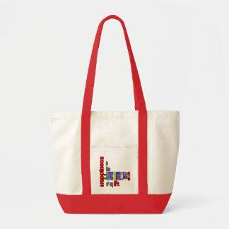 Happiness - Impulse Tote Impulse Tote Bag