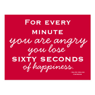 Happiness Inspiration -  Motivational Postcard