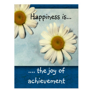 Happiness Inspirational Postcard