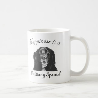 Happiness is a Brittany Spaniel Shirt Coffee Mug