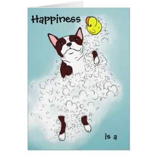 Happiness is a Bubble Bath! Greeting Card