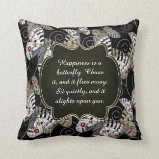 Happiness is a Butterfly: Apollo Butterfly Cushion