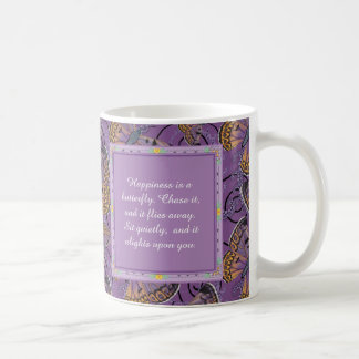 Happiness is a Butterfly: Boulder Copper Butterfly Coffee Mug