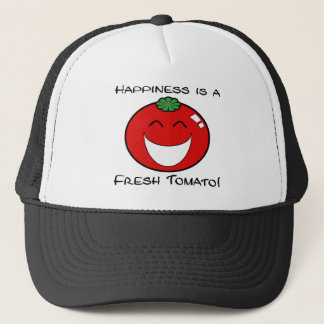 Happiness is a Fresh Tomato! Trucker Hat